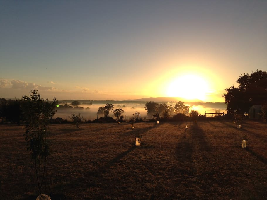 see the sunrise at Chanters Retreat
