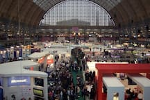 Olympia and Earls Court Exhibitions Halls are very nearby