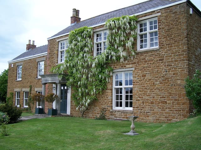 Beautiful Georgian Manor House  - Goadby Marwood - Penzion (B&B)