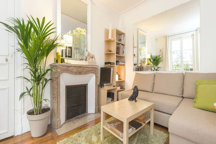a haven of peace in the heart of Paris