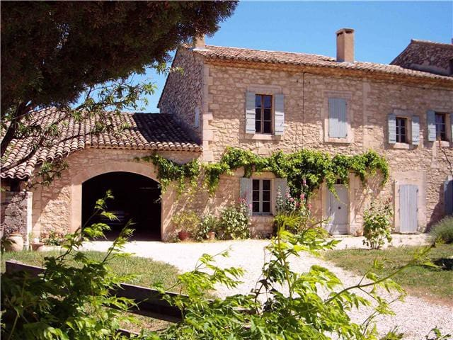 Mas Provençal face au Luberon - Oppède - Casa