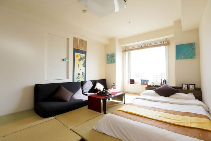 Renewal★luxury apt./10min to Kyoto sta/max 6ppl - Kyōto-shi - Apartment