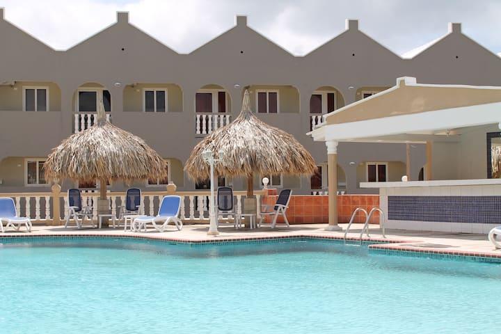Cozy studio with seaview in resort