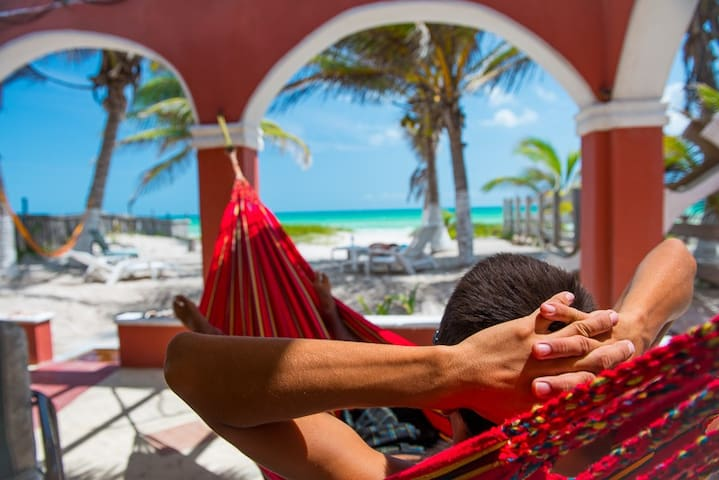 Beachfront Hacienda del Cuyo - El Cuyo - Apartment