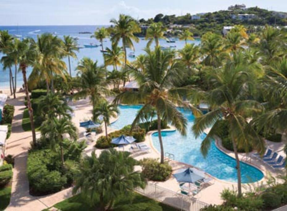 Elysian Beach Resort St Thomas Irma