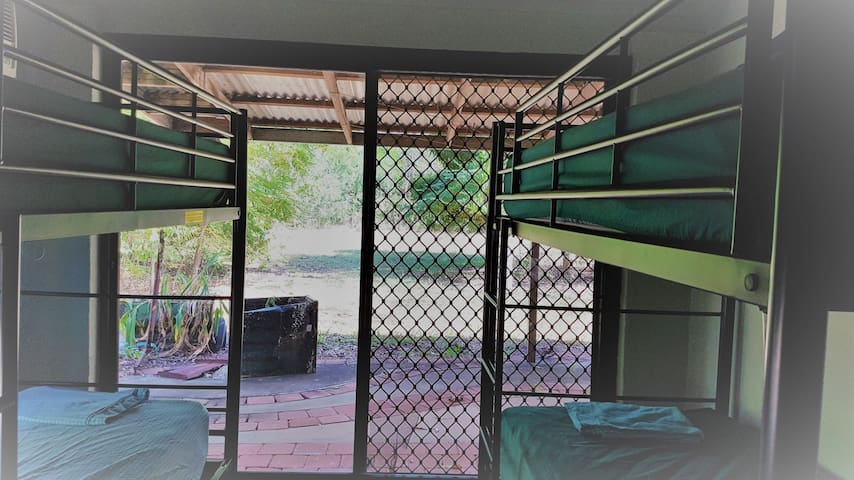 Bedroom 3 looking out