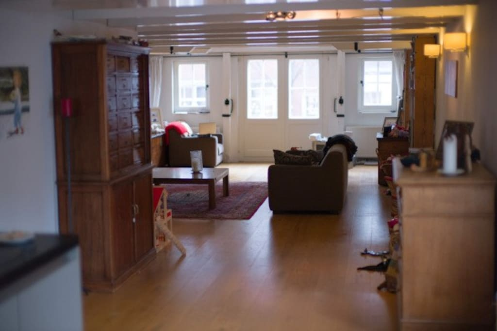 living room (loft space)