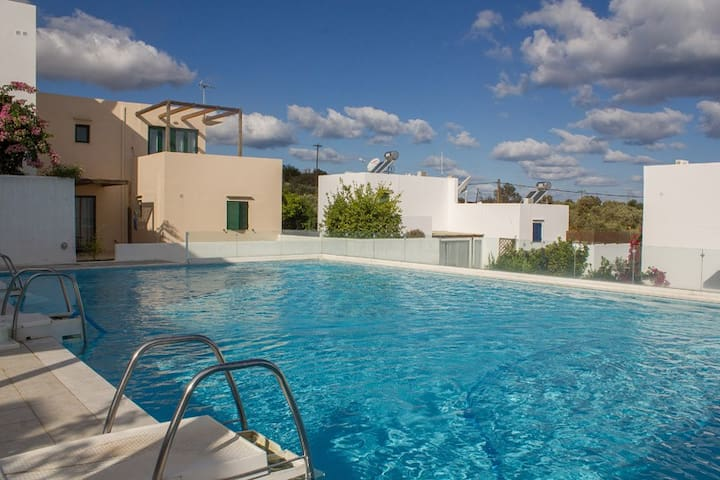 Apartment, Rethymno, Pool, 3km sea - Rethymno - Wohnung