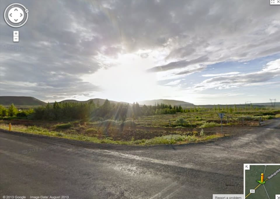 A view by Google maps.