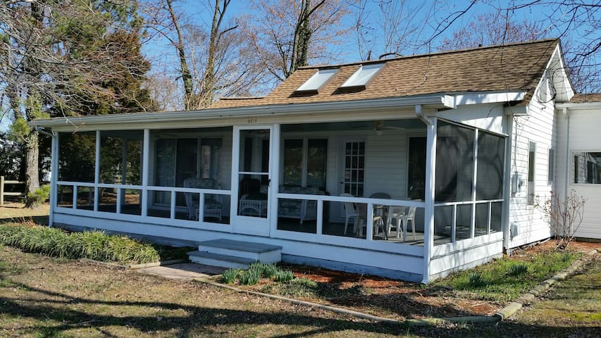 Relaxing Waterfont Cottage in Wittman MD - Wittman - Hus