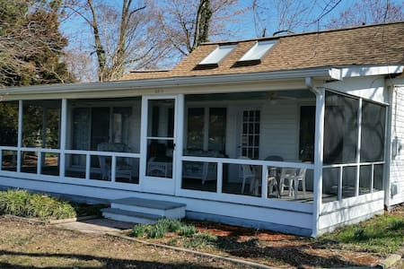Relaxing Waterfont Cottage in Wittman MD - Wittman - Casa