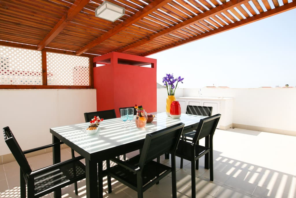 HolidayOnJ - Terrace AC