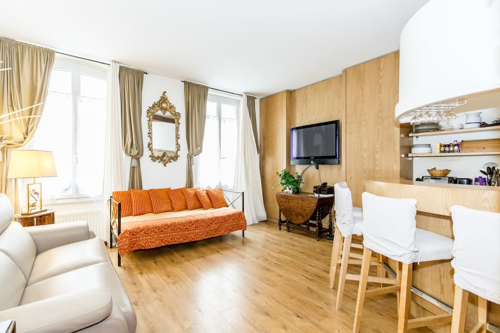 montparnasse 2 bedrooms appartements louer paris le de france france. Black Bedroom Furniture Sets. Home Design Ideas