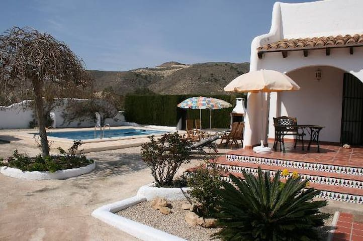 Villa with private Pool for 6people - El Campello - Hus