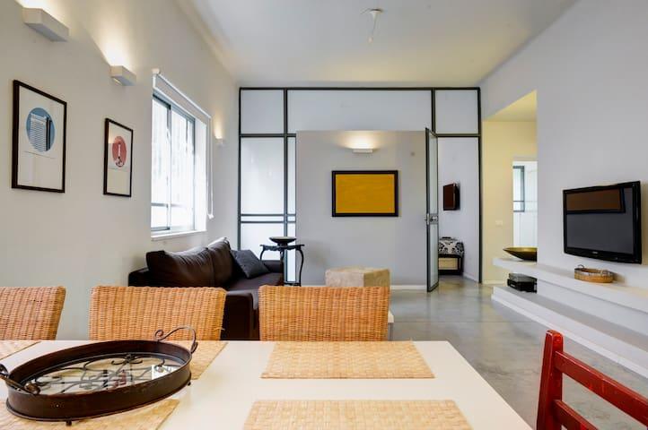 2 Bdr Modern Apt By Dizengoff Beach.City Central - Tel Aviv-Yafo - Apartament