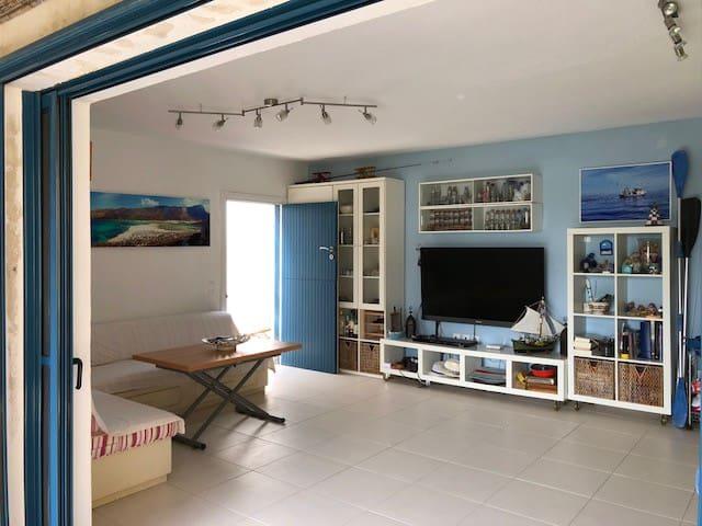 Sunny beach apartment by the sea