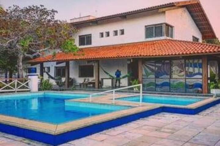 Linda Casa de praia Mansão