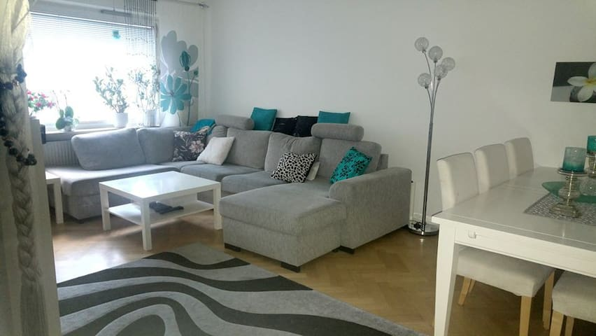 Spacious cosy apartment in central Malmö
