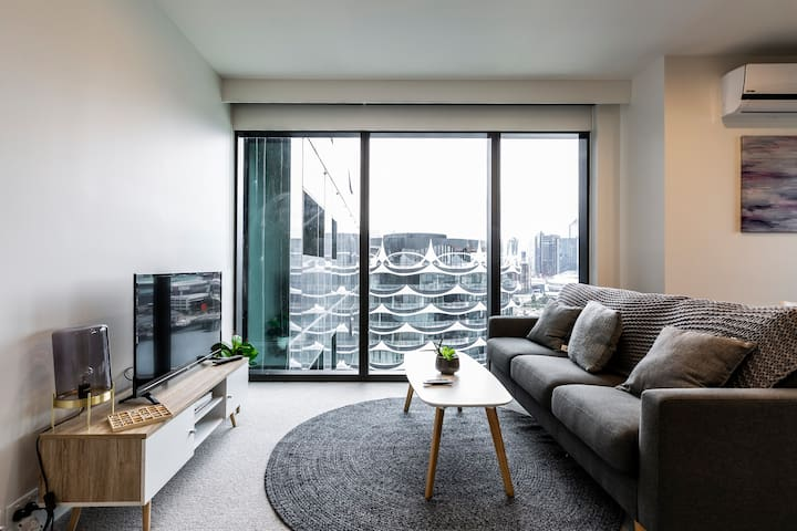 Docklands Urban Luxe Apartment MARVEL STADIUM