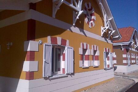 Maison neuve 4B calme a 200m commerces & plages - Lacanau