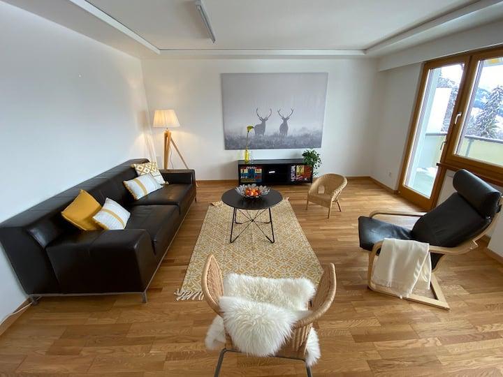 Ferienwohnungen JHS, (Seewis Dorf), Ferienwohnung Hochwangblick für 7 Personen