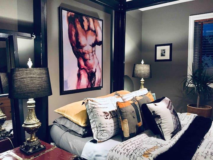 Montréal downtown, weekend get away bedroom