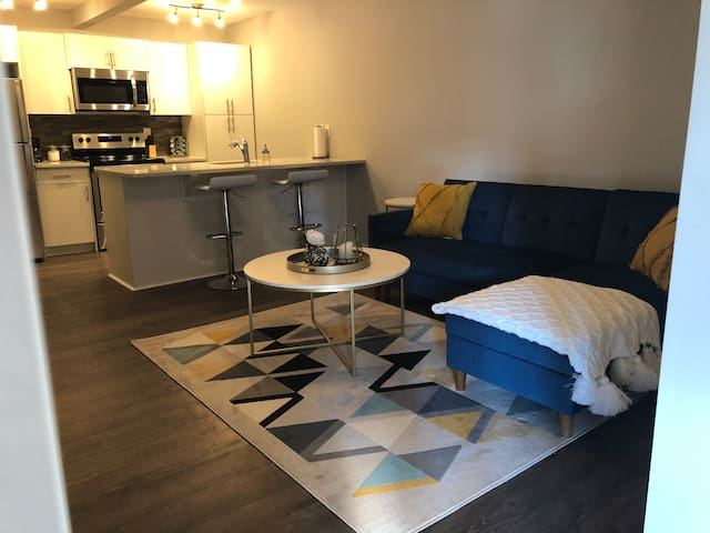 Newly Renovated 1 Bedroom Condo - Private Entrance