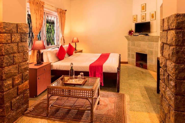 Goldentips room