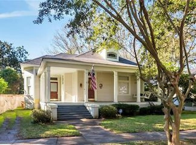 Charming Historic Midtown Cottage 5min to downtown