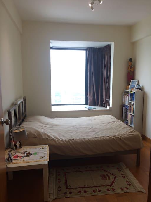 舒適的房間 床墊有幾個款