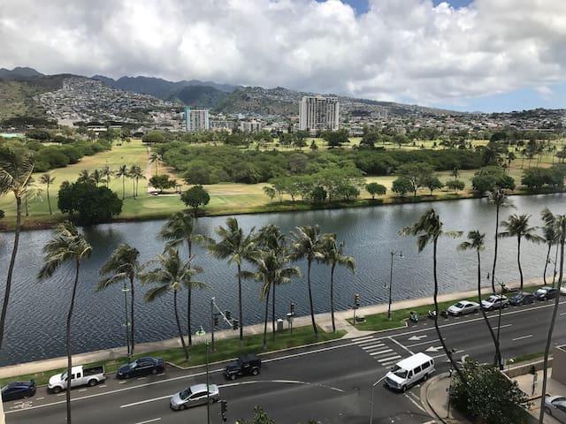 Waikiki hotel studio w/view 9FLR (HOTEL ZONE)