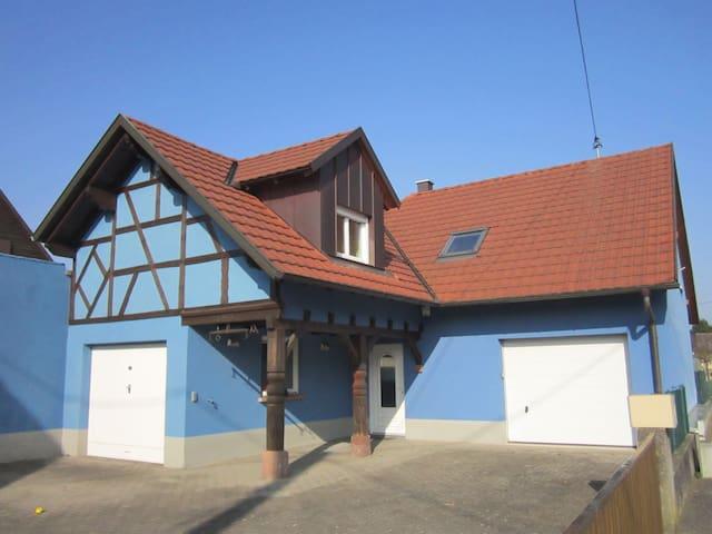 DECOUVREZ UN COIN SUPER EN ALSACE - Rœschwoog - Haus
