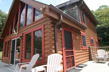 Secluded Luxury Log Cabin! Private Hot Tub! - Snowshoe