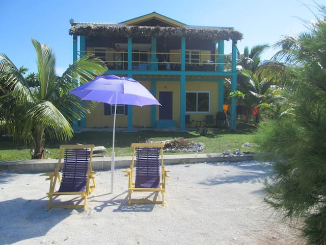 Slo-N-Ez Villa -West bay beachfront - Caye Caulker - Wohnung