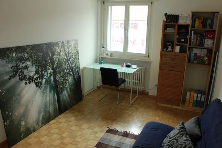 Privat Room close to Basel-City (15 minutes) - Riehen - Daire