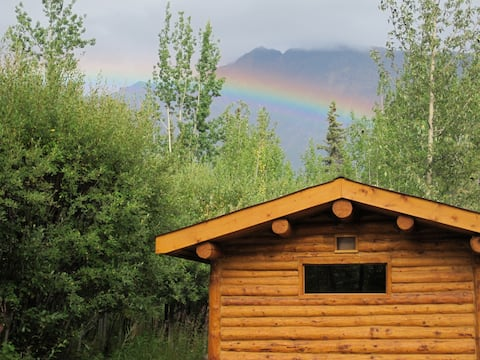 tinycabin b&b--rustic Alaskan charm