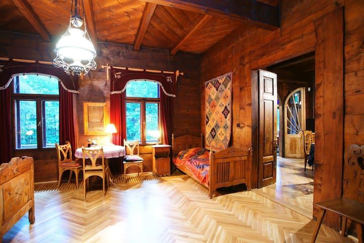 Dom Muzealny Ornak:  Pokój Sasankowy