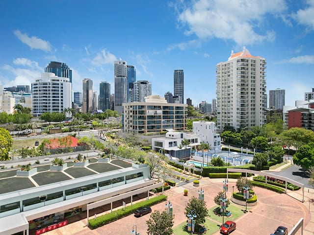 Two Bedroom Unit on The River - Kangaroo Point - Appartement