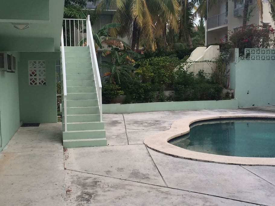 Pool Access.  Unit is located on the second floor