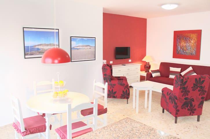(4) Big apartment in front of Gran Tarajal beach - Gran Tarajal - Byt