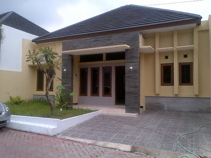 Newly built two bedroom house
