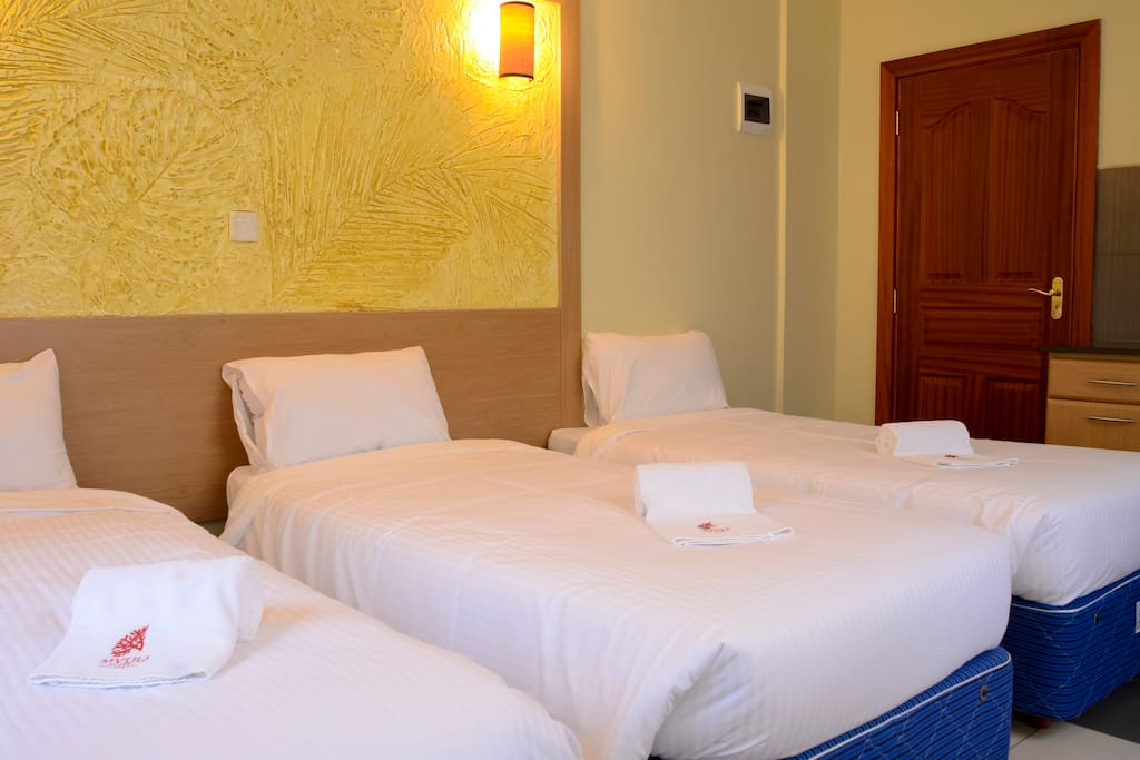 If you are a travelling trio and wish to share a room but not a bed, worry not, we have got you covered
