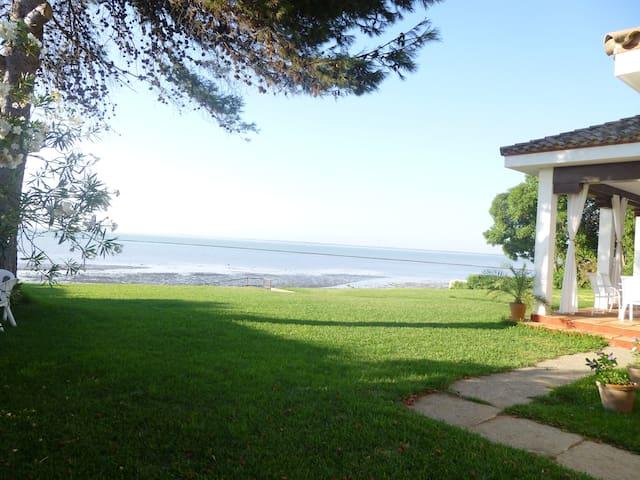 Chalé en primera linea de playa con vistas - Sanlúcar de Barrameda - Alpehytte