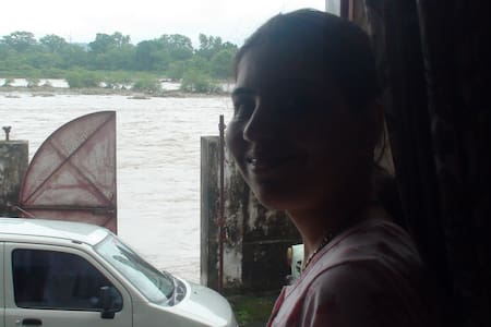 HOMESTAY ON GANGA GHAT AT HARIDWAR - Haridwar - Maison