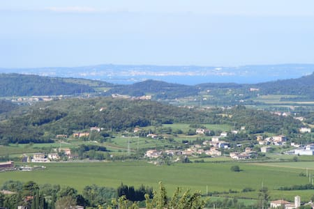 Appartement avec vue panoramique - Caprino veronese - Vendégház