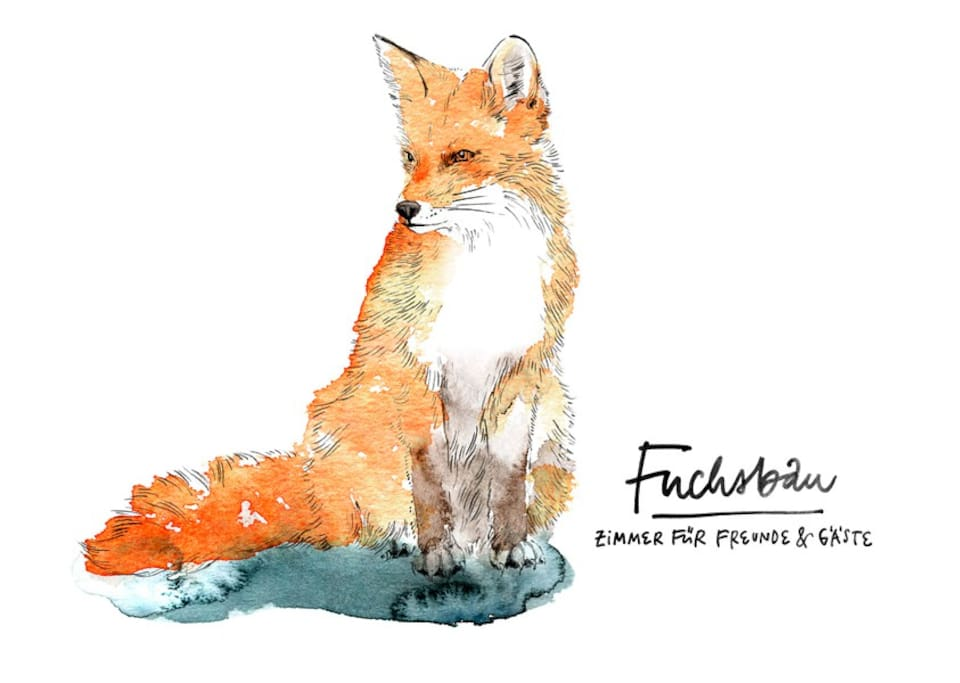 Fuchsbau - Zimmer für Freunde & Gäste