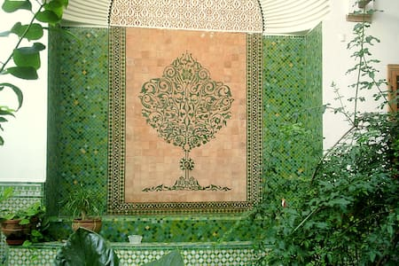 Rabat Medina lovely B&B Azraq room - Rabat