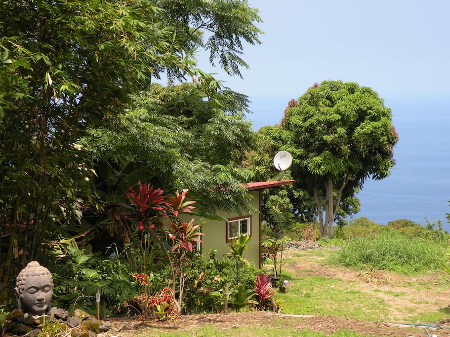 Welcome to Makalani OceanView Cottage