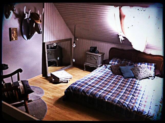 Chambre double à 10' de Lille!