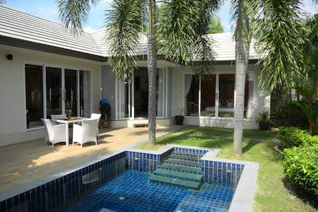 2 bedroom gated Villa with private pool near beach - サムイ島 - 別荘
